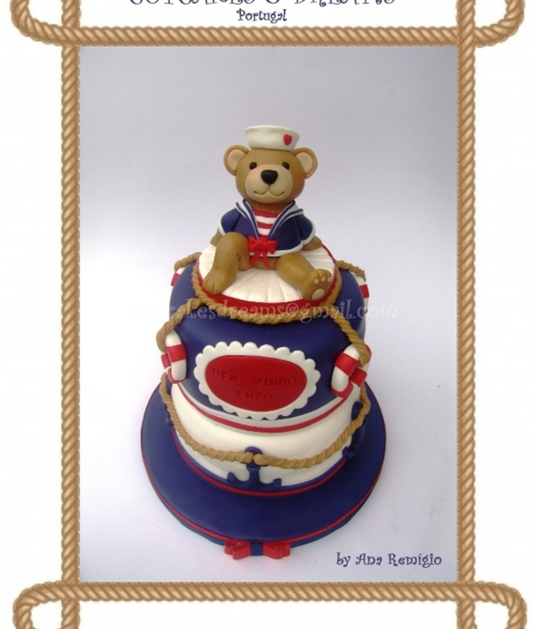 Sailor Bear Cake