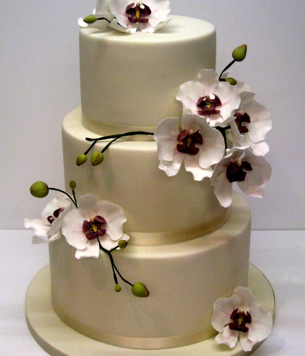 This Is A Wedding Cake I Made Recently And My First Attempt...