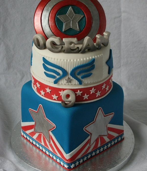 Top Captain America Cakes Cakecentral