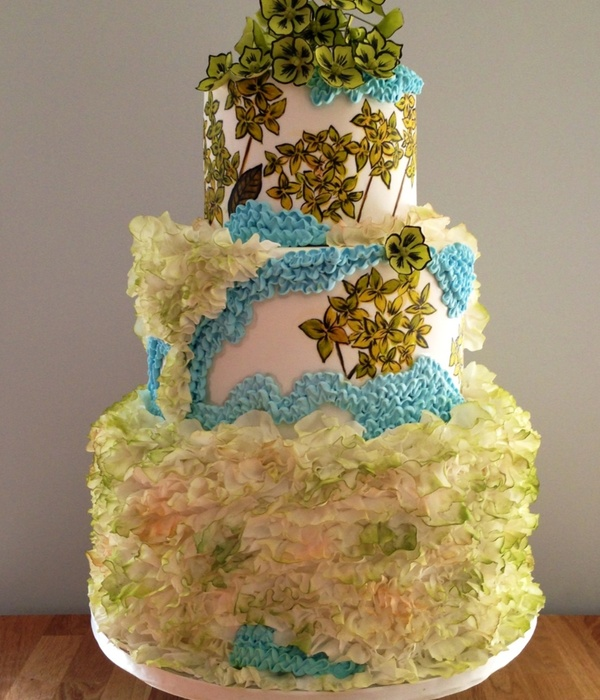 Maggie Austin Inspired Wedding Cake