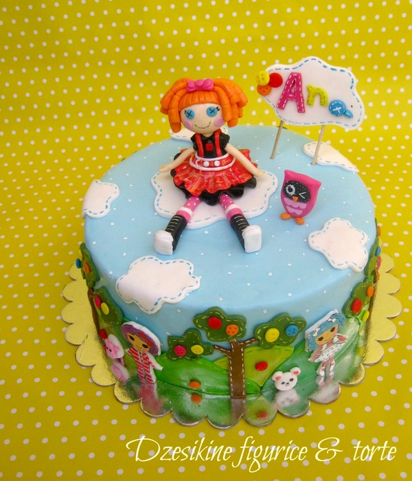 Another One Lalaloopsy Cake With Bea Spells A Lot Topper