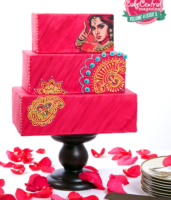 Bollywood Themed Cake