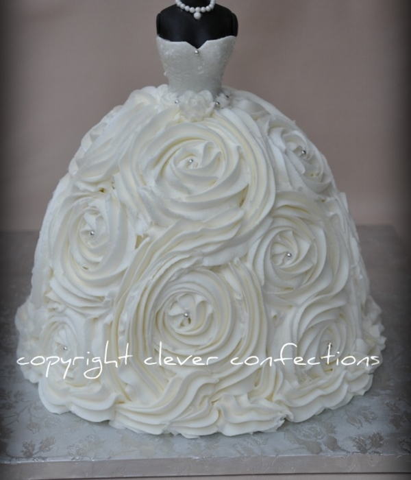 Wedding Gown Cake