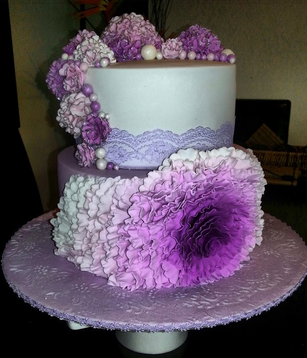 This Is Violeta Very Challenging Cake For Me As It Was A...