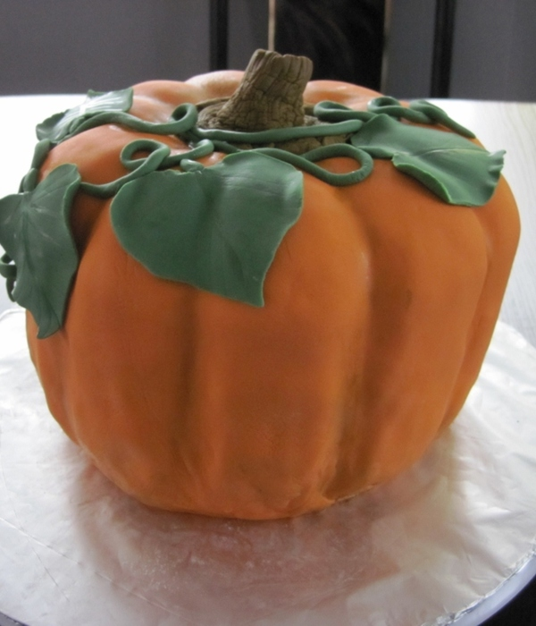 This Was Going To Be A Halloween Pumpkin But I Thought Id...