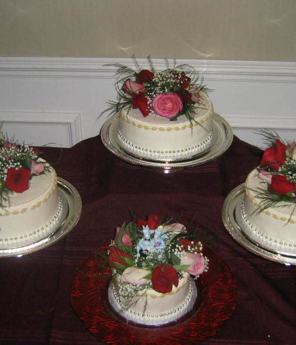This Is Actualy My First Wedding Cake Lucky For Me The...