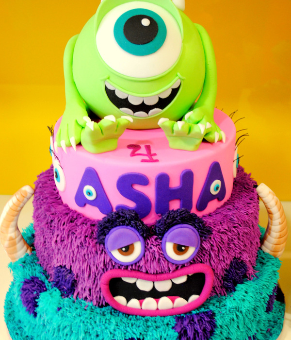 Monsters inc Cake Decorating Photos