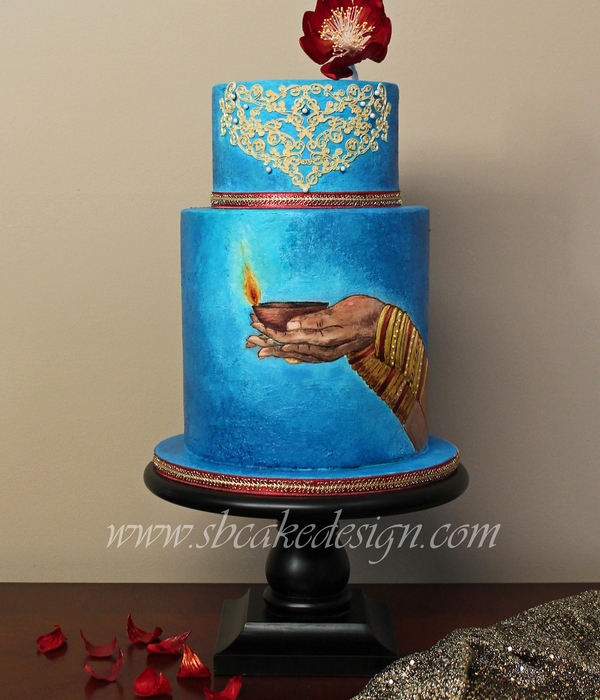 Festival Of Lights Cake