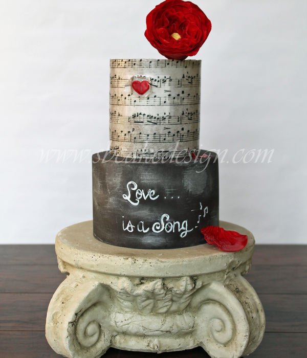 Love Song Cake