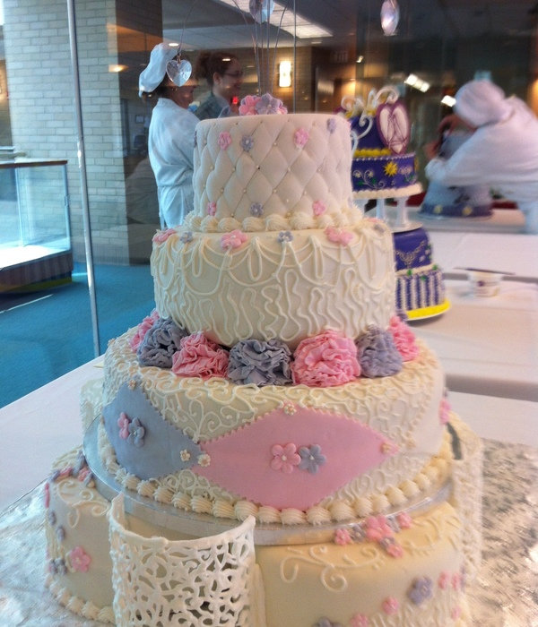 My Final 4 Tiered Celebrationwedding Cake For Cake...