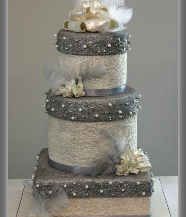 Wedding Gift Boxes Cake