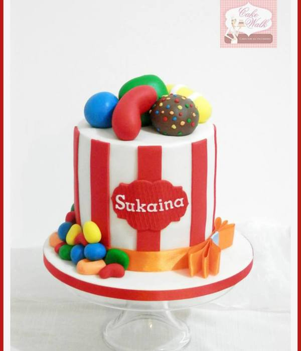 Candy Crush Theme Cake