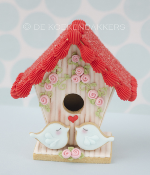 3D Cookie Bird House