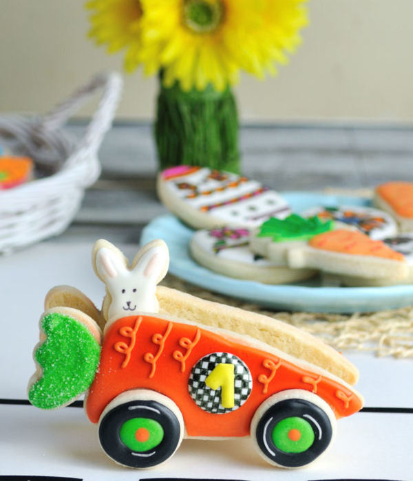 3D Carrot Car For Easter