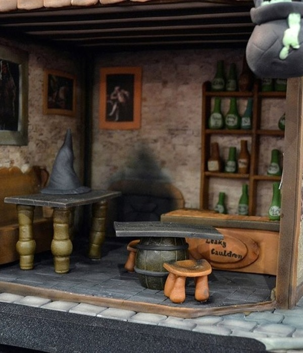 Inside The Leaky Cauldron Pub The Pub Won Gold Award At...