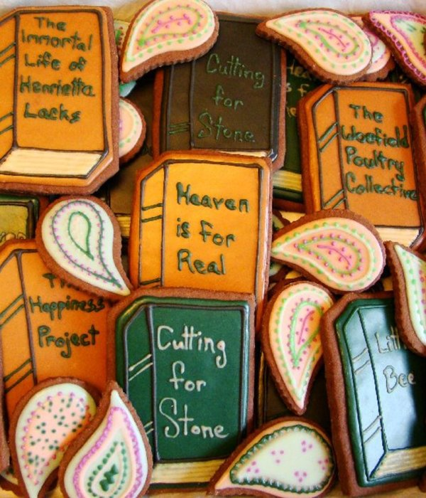 Book Club Cookies