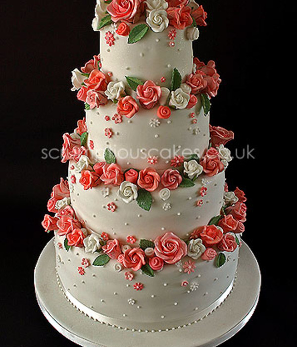 Top Cakes With Roses Cakecentral Com