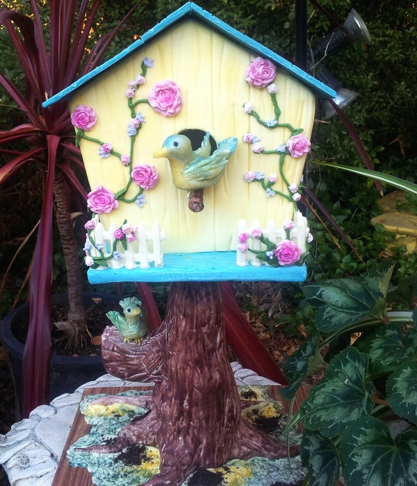 Bird House Cake Taught By Susan Carberry At Latorta In Canberra Act Made By Cheryl Signature Cakes