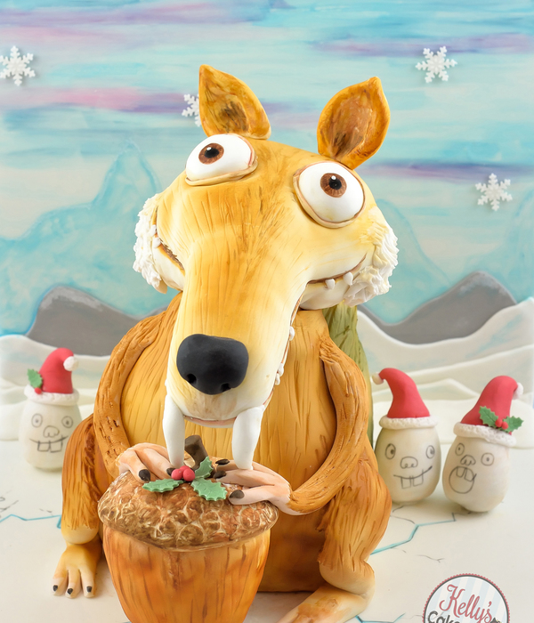 Scrat From Ice Age~Bake A Christmas Wish