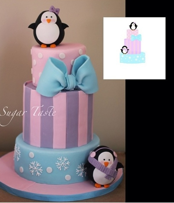 Penguins Cake