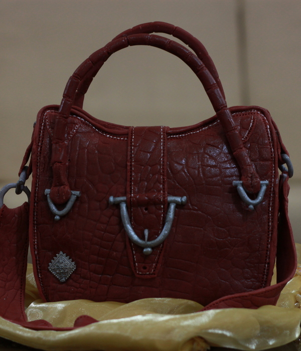 Leather Purse Cake