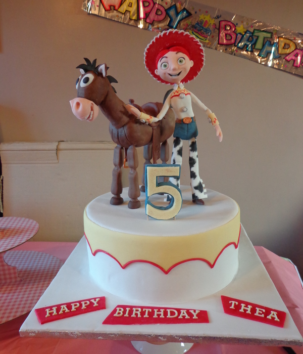 Jessie And Bullseye This Cake I Made Was For My Youngest...