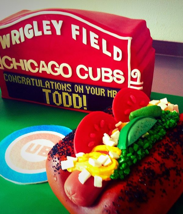 Modeling Chocolate Hot Dog Condiments Ganache And Fondant Sign