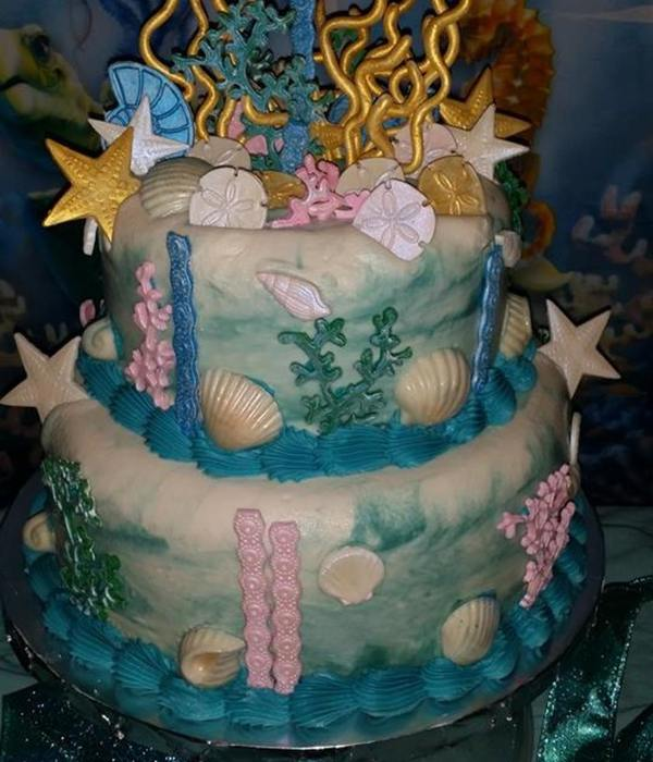 Under The Sea Cake Decorating Photos