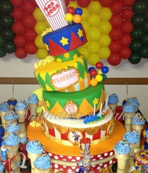 I Made This Cake For My Sons 5Th Birthday Carnival...