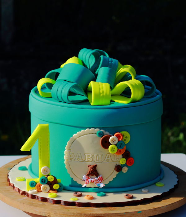 Top gift box cakes cakecentral gift box cake negle Image collections