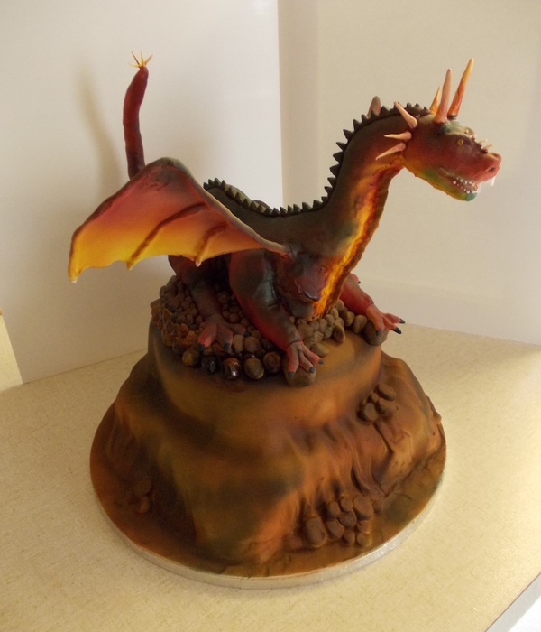 Top Sculpted Dragon Cakes Cakecentral Com