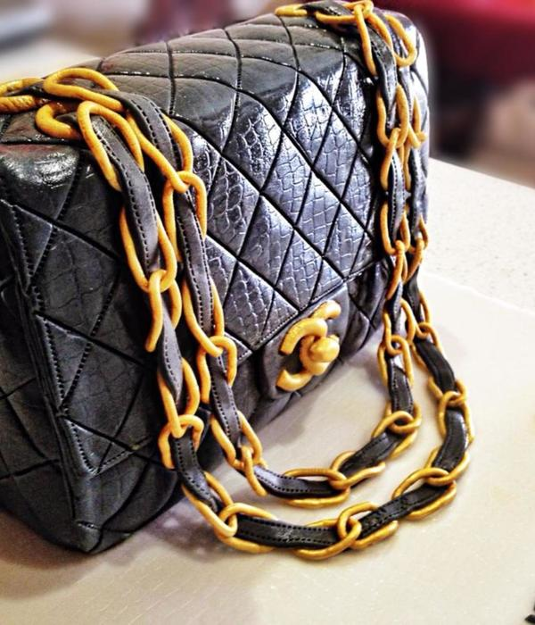 Chanel Handbag Birthday Cake