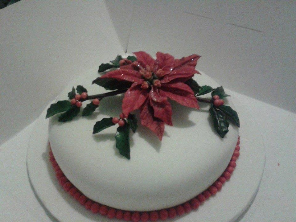 First Fondant Covered Cake First Fruit Cake And First...