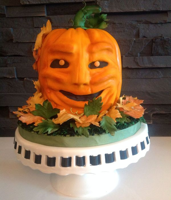 Idream Designs - Sculpted Pumpkin