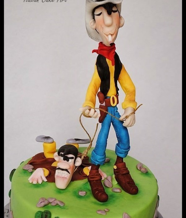 Lucky Luke Cake For My Grandchild