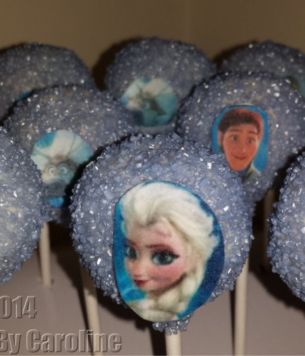 Frozen Cakepops For A Huddersfield Customer.