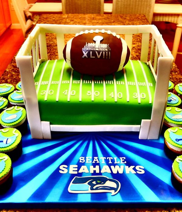 top seattle seahawks cakes cakecentral com