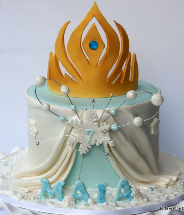 Frozen Elsas Cape And Tiara