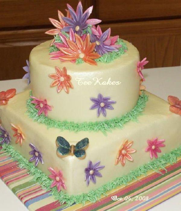 A Daisy Kind Of Birthday Cakecentral