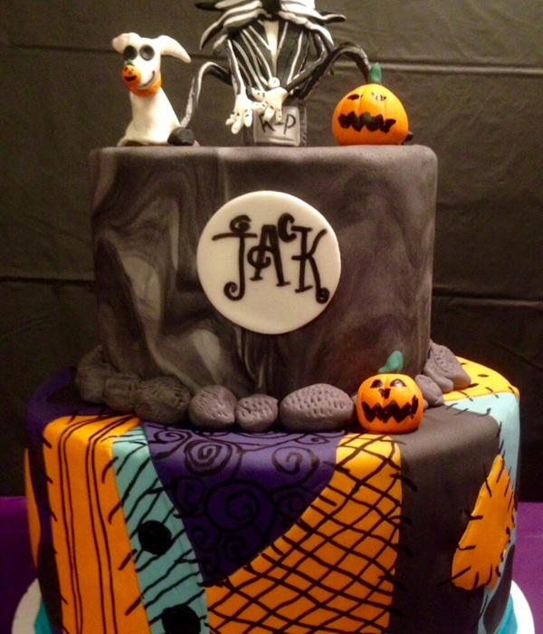 Jack The Pumpkin King Cake Topper