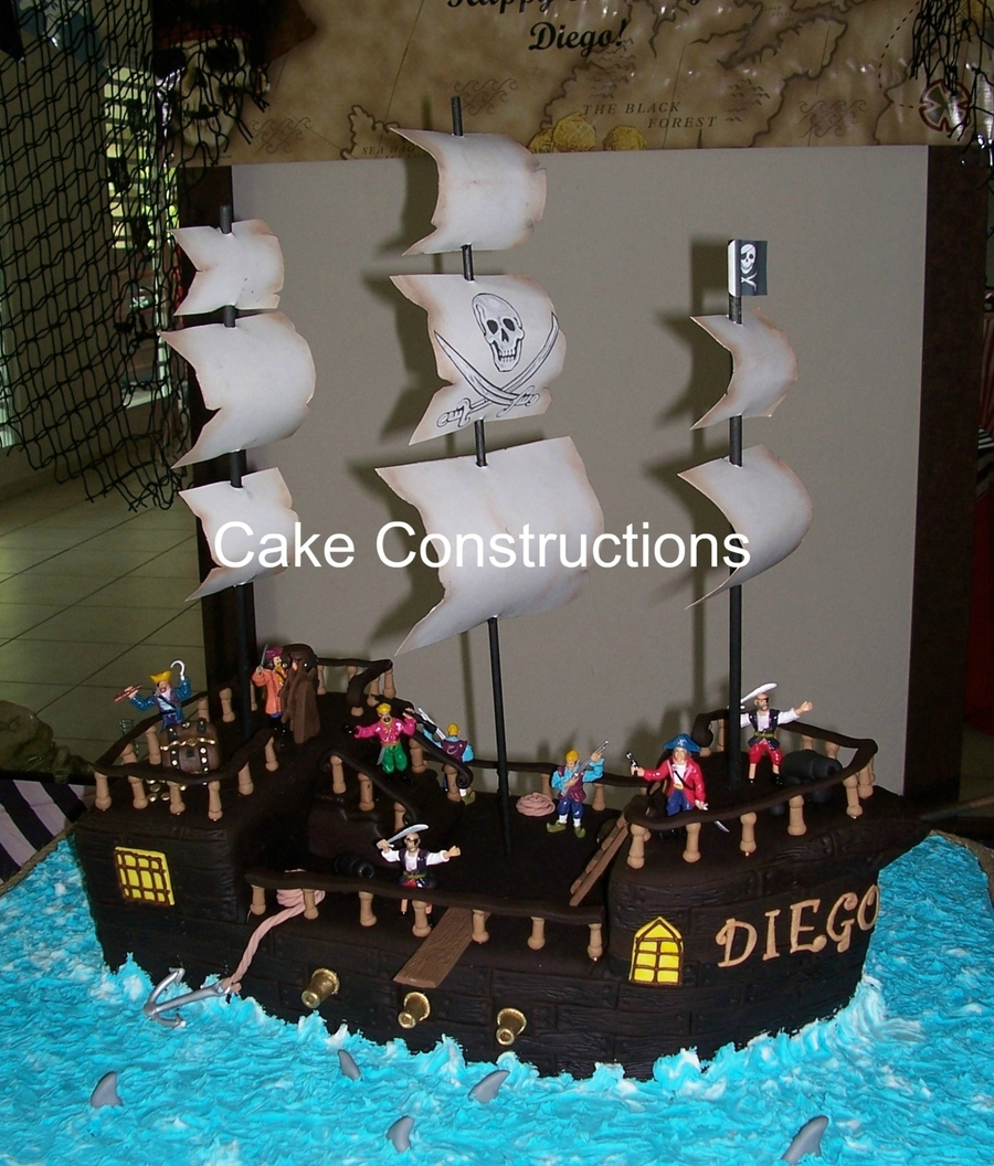 Barco Pirata on Cake Central