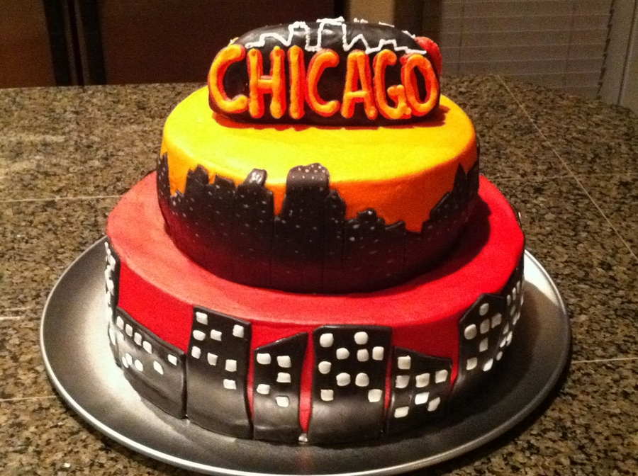Chicago Skyline Cakecentral