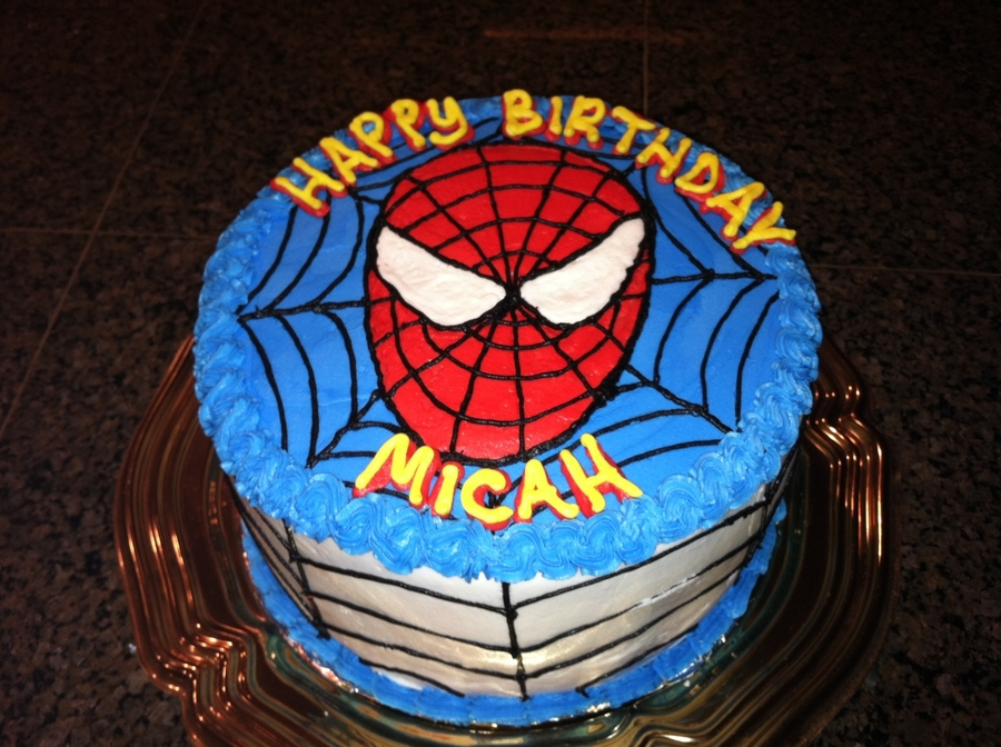 Spiderman Birthday on Cake Central