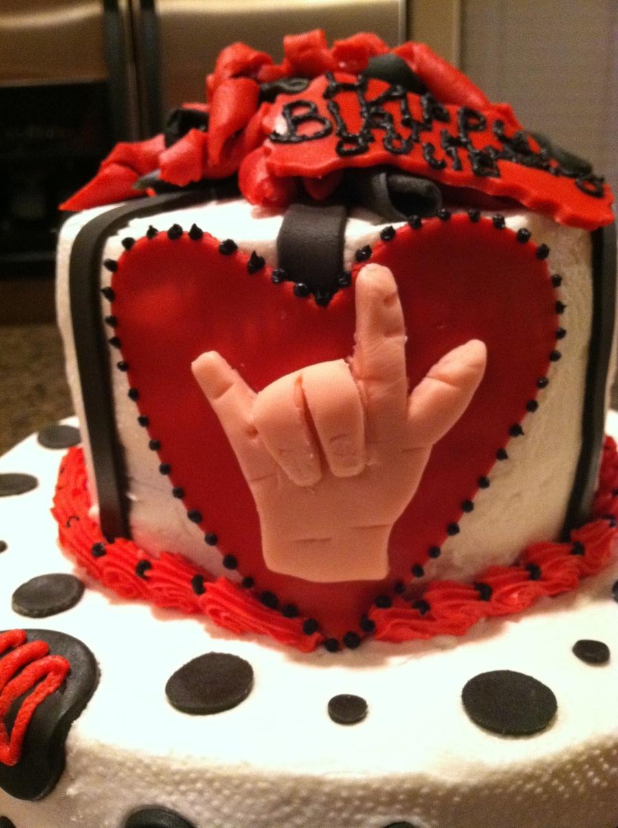 Images Of I Love U Cake :
