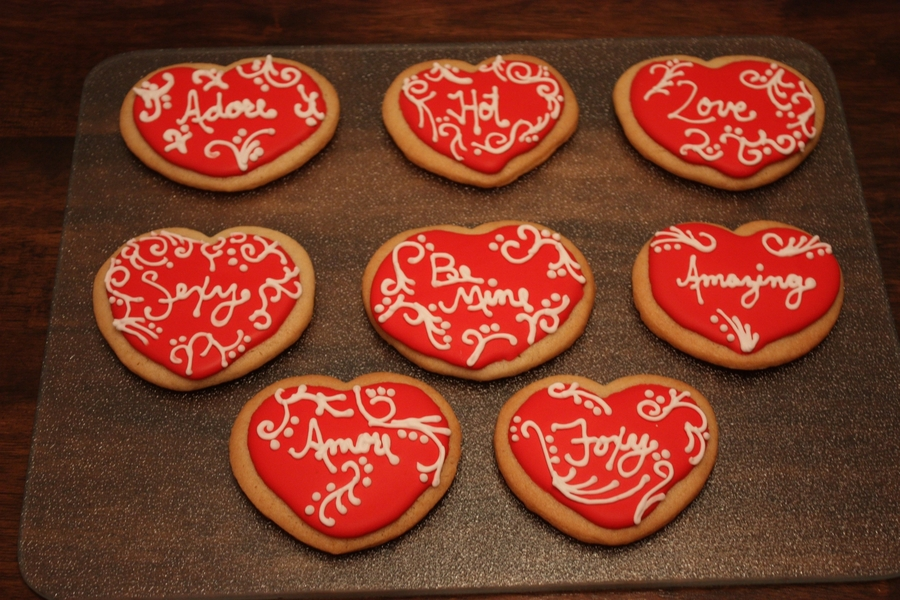 Heart Sugar Cookies on Cake Central