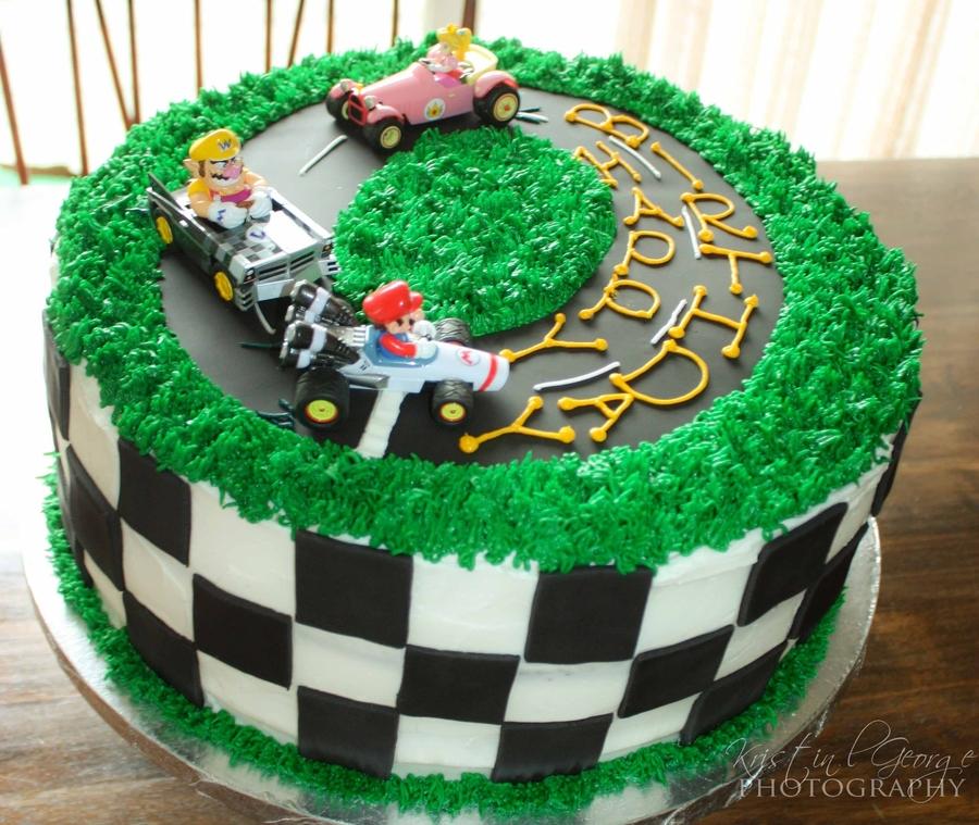 Mario Kart  Cake Decorations