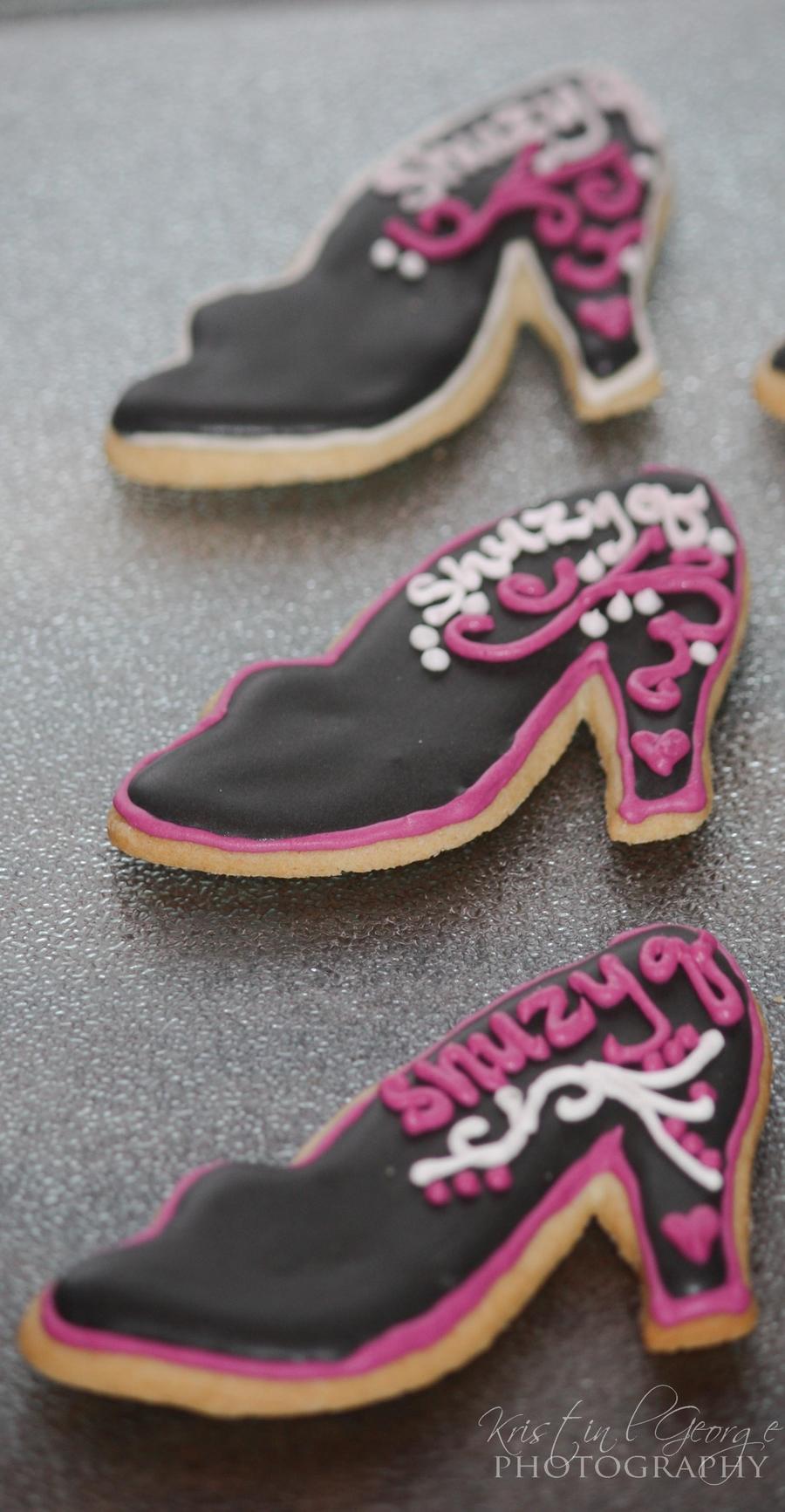 Shoe cookies recipe