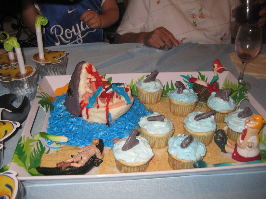 Shark Party!!! on Cake Central