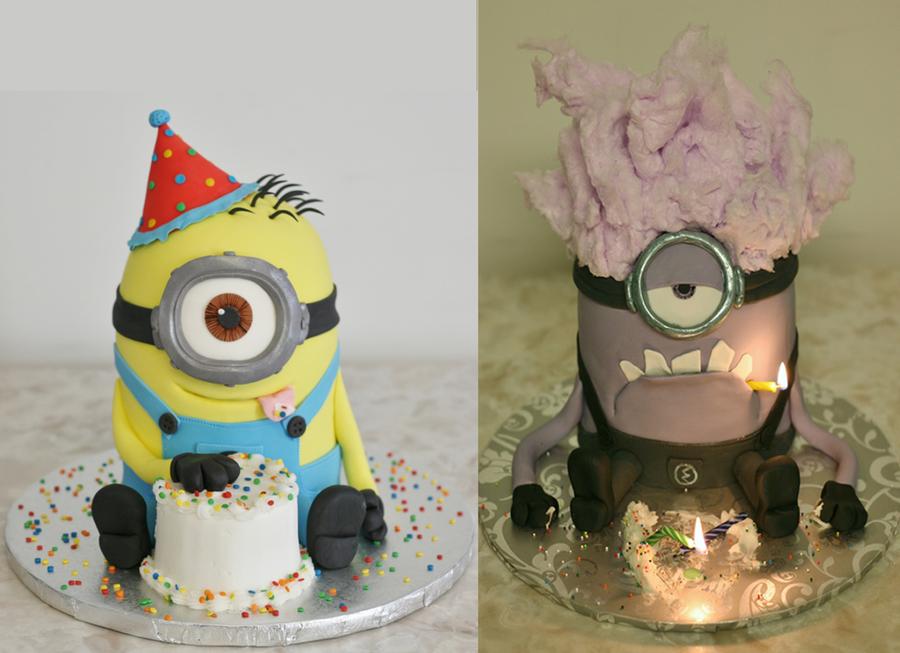 Purple Minion Cake Recipe