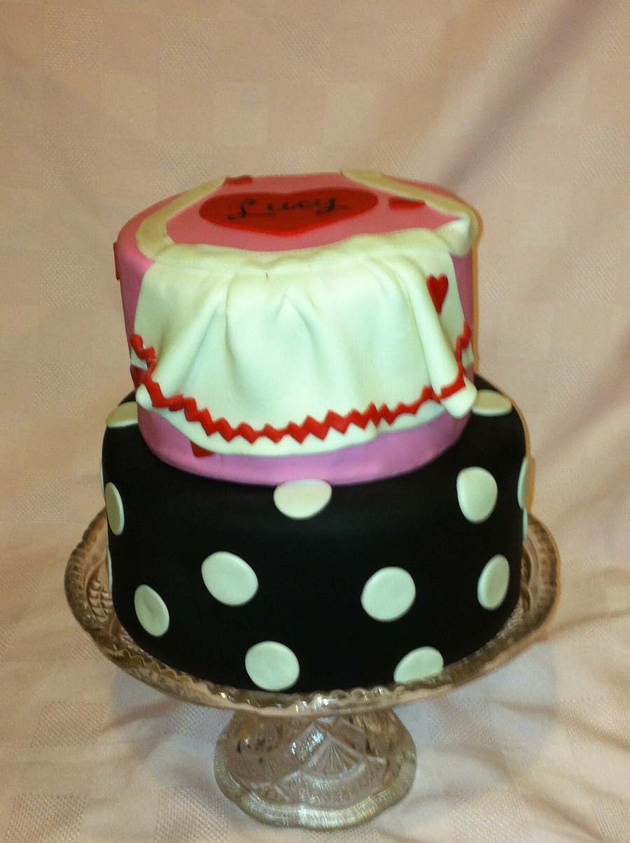 I Love Lucy Cake on Cake Central